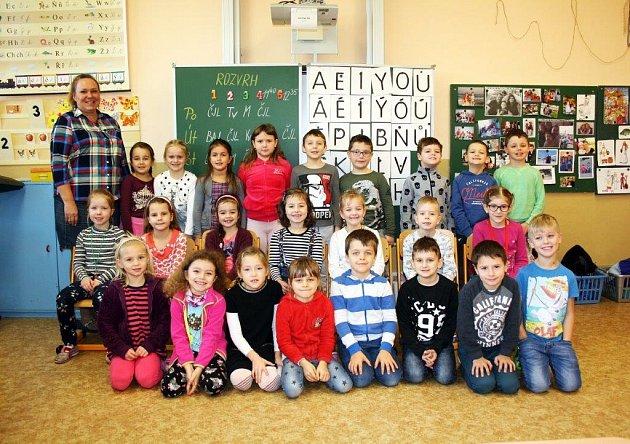 MŠ a ZŠ Borovského, Karviná, třída 1.B