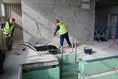 Celková rekonstrukce malého krytého bazénu Delfínek v Havířově.