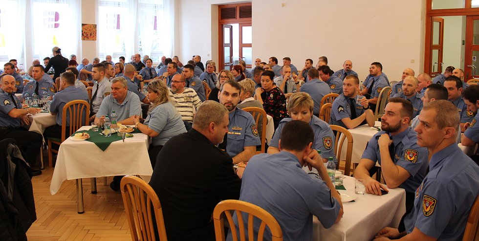 Vyhodnocení služby Městské policie Havířov a ocenění strážníků za rok 2018.