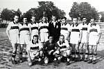 První fotbalové mužstvo PKS Lechia ze dne 6. srpna 1946.