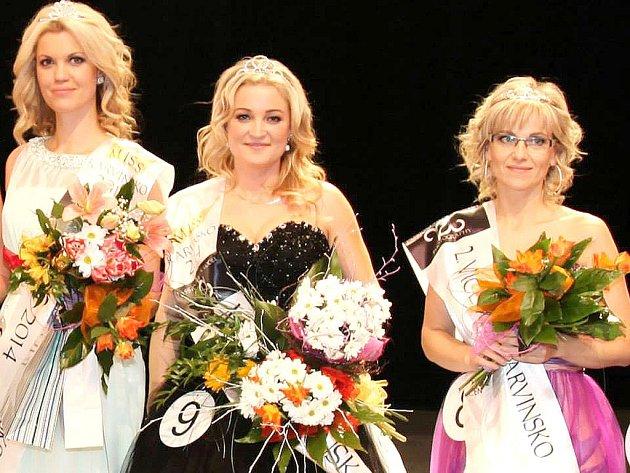 Vítězky Miss Karvinsko 2014.