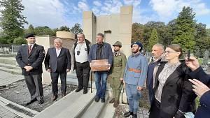 Rekonstrukce pomníku obětem sedmidenní války