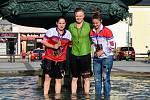 Před dvěma lety přivezly Kateřina Němcová (vlevo) a Tereza Palová (vpravo) do Karviné zlato z domácího mistrovství světa. Martin Pala mladší přidal bronz.