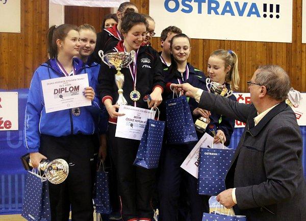 Dorostenky Nikita Petrovová a Gabriela Štěpánová mají stříbro.