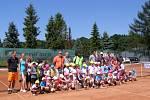 Tenisový turnaj nejmenších dětí v Havířově.