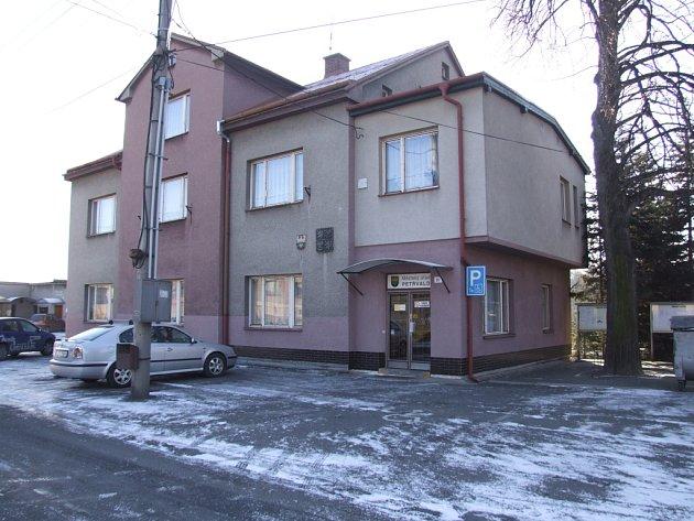 Radnice v Petřvaldě.