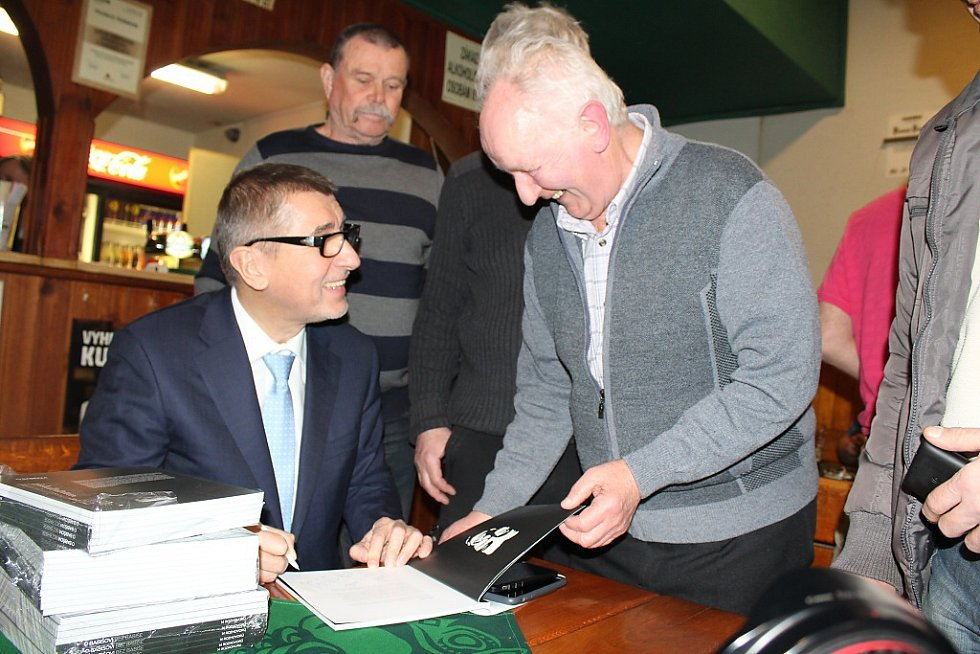 Vicepremiér Andrej Babiš navštívil ve středu 15. 2. 2017 Karvinou a Orlovou.