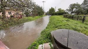 Následky deště na Karvinsku, středa 14. října 2020