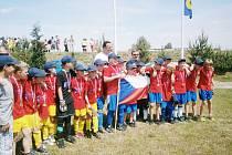 Orlovská výprava žáků ovládla fotbalové mini EURO.