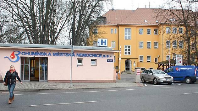 Bohumínská nemocnice.