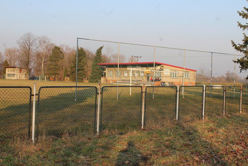 Věřňovice. Fotbalový areál