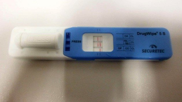 Test na drogy DrugWipe® 5S.