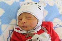 Lukáš Karala z Havířova se narodil 3. února 2020. Měřil 45 cm a vážil 2450 g.  Maminka Věra Karalová.
