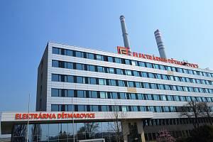 Hlavní administrativní budova Elektrárny Dětmarovice.