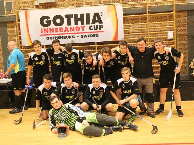 Mladí petrovičtí florbalisté na Gothia Cupu ve Švédsku.