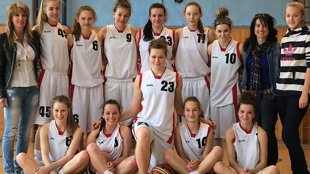 Basketbalové družstvo kadetek BK Havířov dosáhlo letos velkého úspěchu.