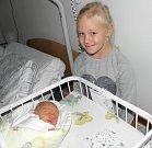 Teodor Miklánek se narodil 12.listopadu mamince Lence Miklánkové z Karviné. Porodní váha miminka byla 3540 g a míra 50 cm. Sestra Natálka se na brášku moc těší.