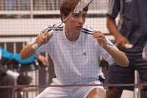 Juniorští badmintonisté bojovali o tituly.