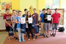 Vítězné týmy soutěže.