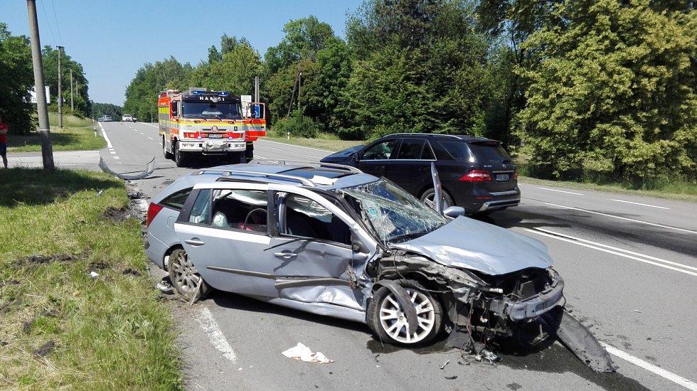 Dopravní nehoda v Orlové.