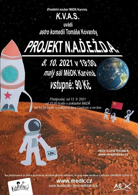 Divadlo K.V.A.S. a Projekt N.A.Ď.E.Ž.D.A.