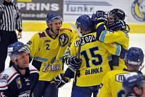 Přerovští hokejisté doma porazili Karvinou 9:2 a ujali se opětovného vedení v sérii.