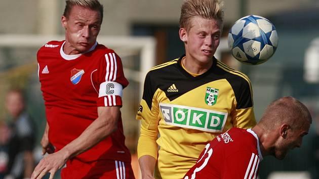 Přípravné utkání s Ostravou naznačilo karvinskému trenérovi Jozefu Weberovi určité alternativy v sestavě.