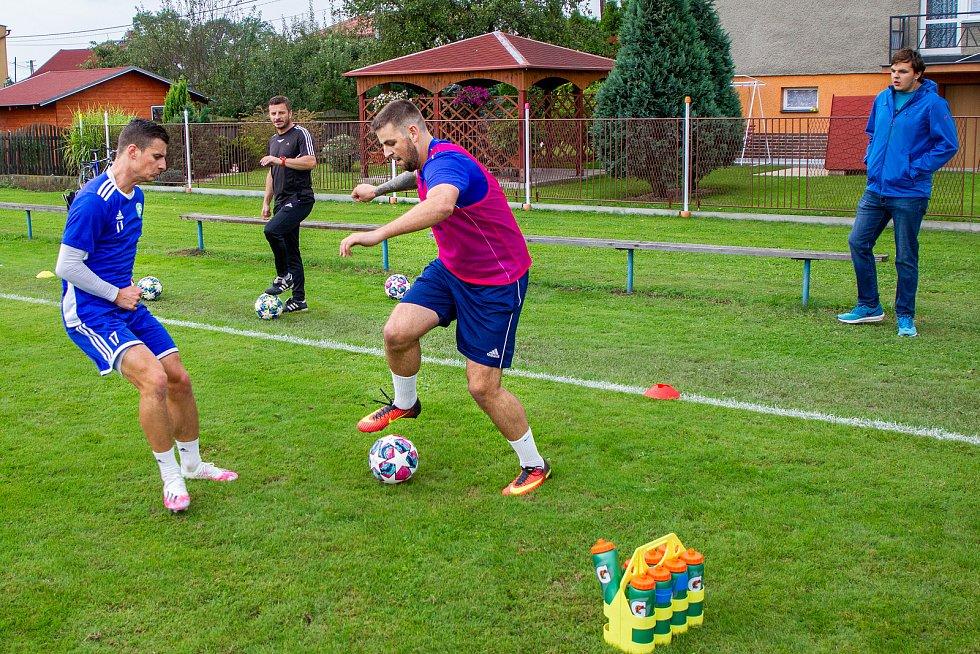 Fotbalový klub Sokol Věřňovice se těší zájmu diváků.