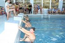 Městské kolo plavecké soutěže základních škol v Havířově.