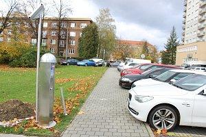 Nový parkovací automat v centru Havířova