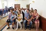 Vítání občánků v Havířově, neděle 23. června 2019.