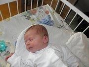 Sebasiánek Širák se narodil 25.července paní Emilii Luptovec z Karviné. Po porodu miminko vážilo 3370 g a měřilo 50 cm.
