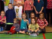 Karvinské a orlovské děti po vyhlašování výsledků.