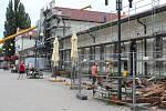 Rekonstrukce vlakového nádraží v Bohumíně.
