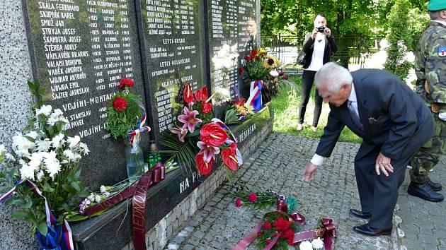 VHavířově uctili památku obětí druhé světové války.