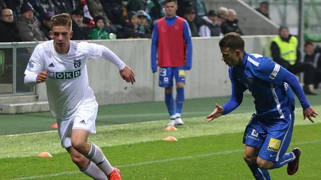 Libor Holík (vlevo), jeden z talentů českého fotbalu.