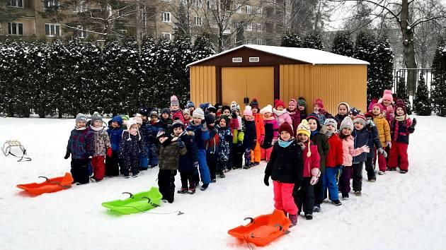 Děti z MŠ Klubíčko v Havířově si vyzkoušely, jaké je to být sportovci.