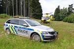 Pátrací akce policie. Ilustrační foto.