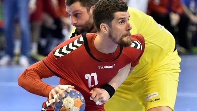 Ondřej Zdráhala, kapitán českého týmu.