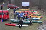 Ve Věřňovicích se konal v pořadí XIII. ročník Novoročního sjezdu Olše, které se pravidelně účastní jak vodáci z Česka, tak z Polska.