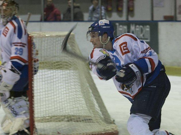 Orlovští hokejisté doma ztratili zápas s Porubou.