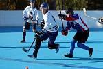 Hokejbalisté poprvé v sezoně prohráli.