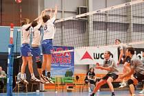 Volejbalisté Havířova na body nedosáhli.
