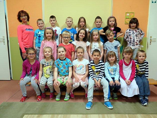 Třída Včeličky, MŠ Klubíčko vulici Sukova, Havířov
