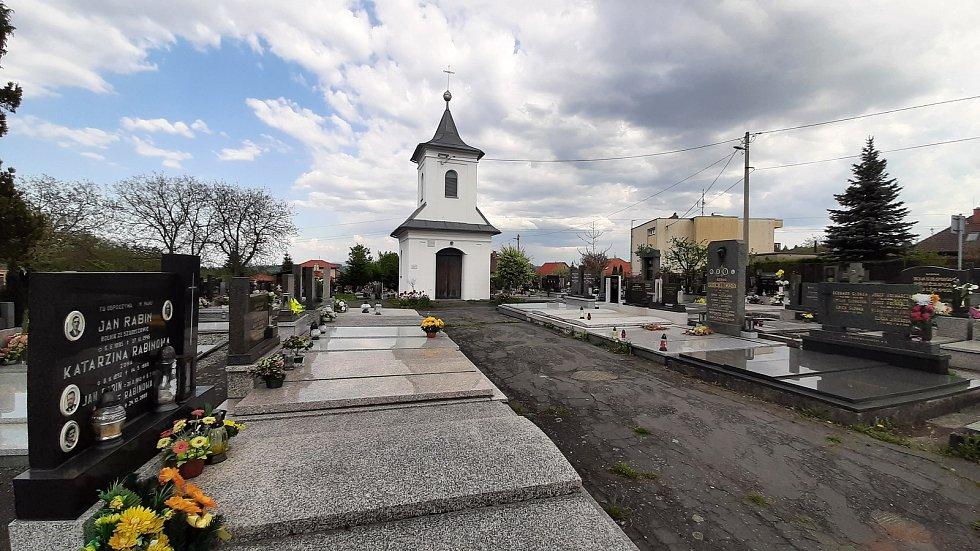 Havířov, Životice hřbitov kaple.