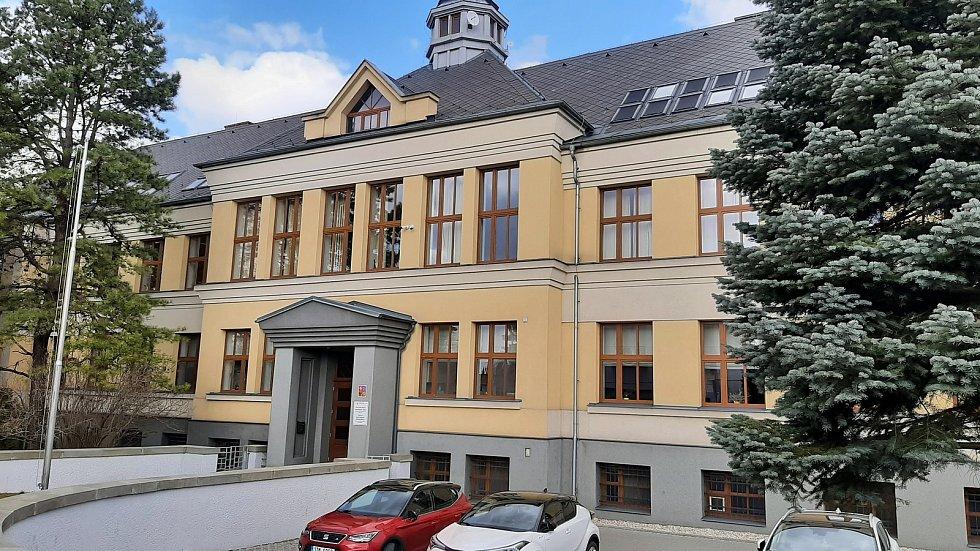 Horní Suchá. Budova polské školy.