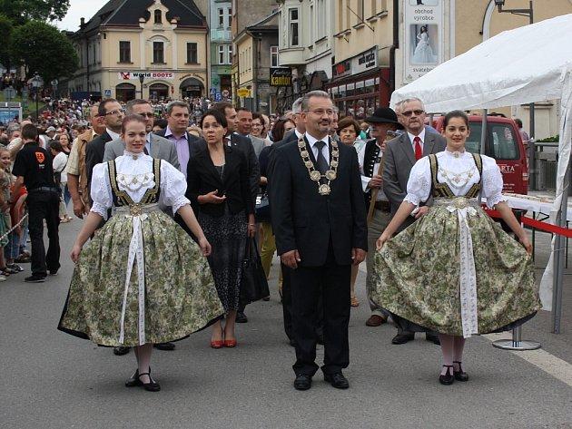 Třídenní oslavy založení města Těšína nazvané Svátek tří bratří.