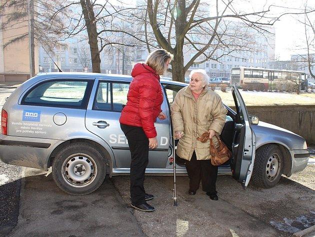 Seniorská doprava v Havířově.