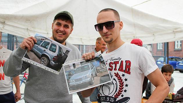Nový vlastník nalezeného terénního vozu pochází ze sousední Dolní Lutyně.
