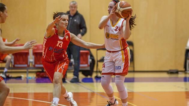 Basketbalistky Havířova cvičí doma a počítají s tím, že se soutěže nedohrají.